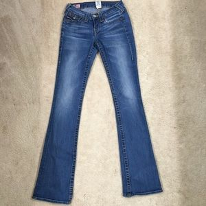 True Religion Becky Bootcut jeans, size 25.